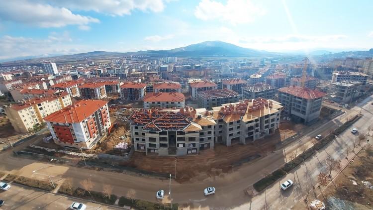 Abdullahpaşa Mahallesinde Yeni Yapılar Tamamlanıyor