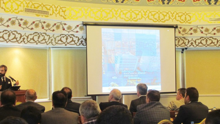 Elazığ Kentsel Dönüşüm Strateji Belgesi Çalışmaları Kapsamında Elazığ'da Kent Çalıştayı Düzenledik