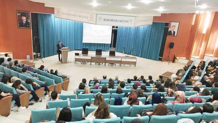 Yönetim Kurulu Başkan Yardımcımız Sn. İsmail Çakal, Konya Selçuk Üniversitesi'nde